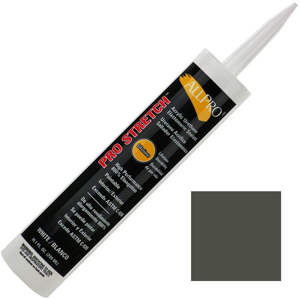 Allpro Pro Stretch Acrylic Urethane Sealant/Caulk (case of 12) (Case (12 Tubes), Bronze)