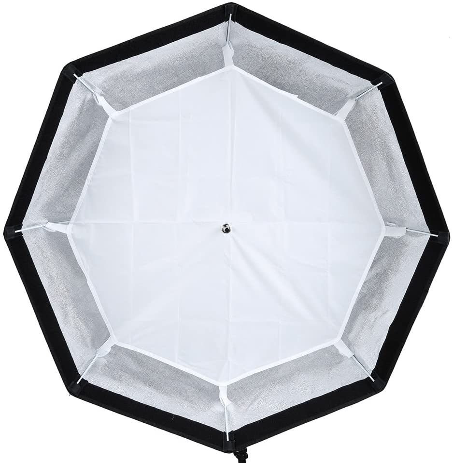 Godox SB-UE 120 cm Regenschirm Octagon Softbox Reflektor mit Wabenraster f/ür Speedlight Flash Bowens Mount
