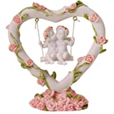 trendaffe Engel im Herz Dekofigur - Deko Figur