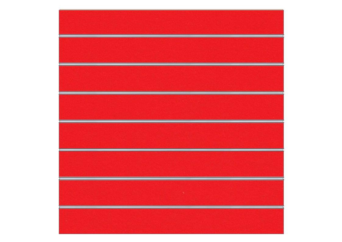 Varios colores 2 unidades de panel de lama 120x120 cm Madera Harry