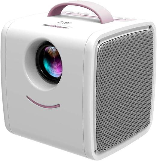 Proyector Doméstico Portátil HD, LED Mini Proyector Infantil ...