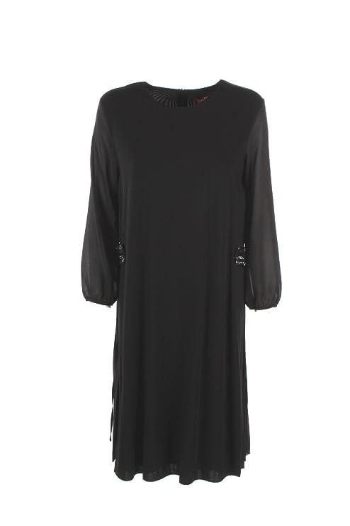MaxMara 2XL Rango Negro Vestido de Las Mujeres Otoño Invierno 2017/18: Amazon.es: Ropa y accesorios