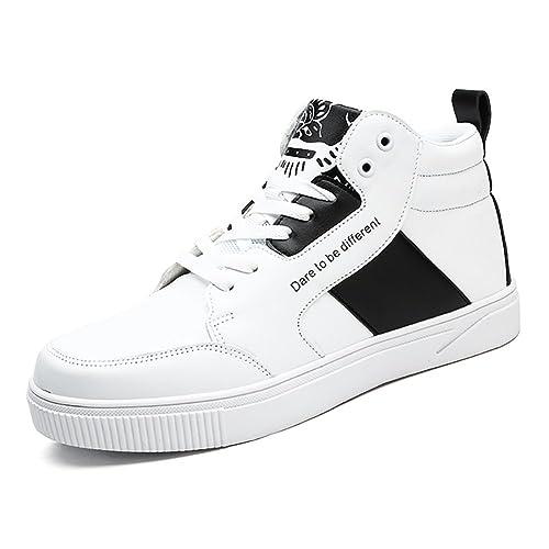 Zapatillas de Deporte para Hombres Hi-Top Trainer Zapatos Ligeros de Fitness Zapatos de Running: Amazon.es: Zapatos y complementos