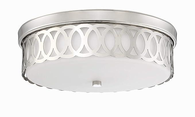 Amazon.com: Park Harbor PHFL4162 - Lámpara de techo cuadrada ...