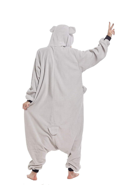 Zinuods Women Men Adult Onesie Pajamas Halloween Animal Cosplay Costumes