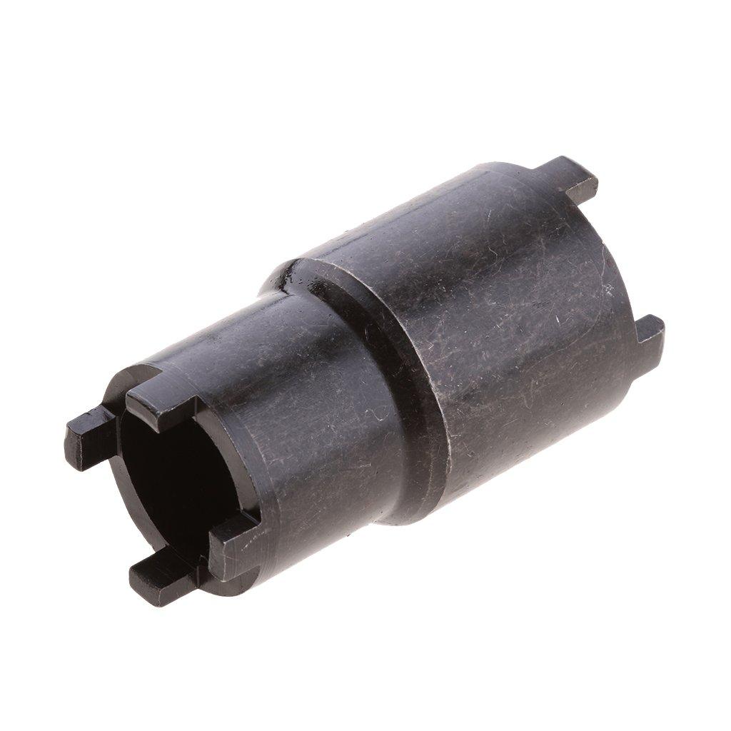 MagiDeal 20mm//24mm Clutch Tool Lock Nut Spanner Wrench Socket Tool for Honda ATV Black