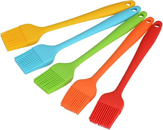 Silicone Kitchen Baking Food Brush BBQ Grilling Basting Tool Cooking Accessory