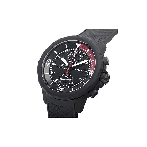 IWC Aquatimer negro Dial Automático Mens Reloj iw379505