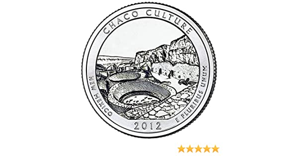 2012 Chaco Culture New Mexico P America the Beautiful Quarter BU Uncirculated