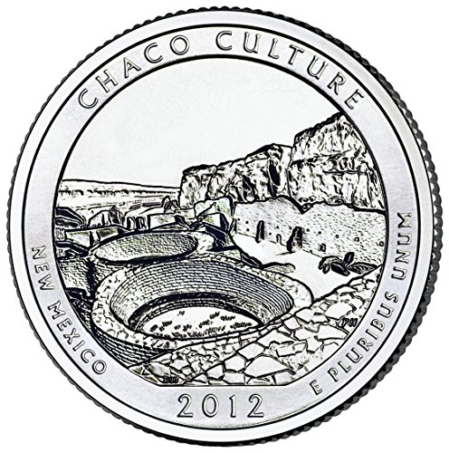 2012 D Chaco Culture National Historical Park Quarter Choice Uncirculated