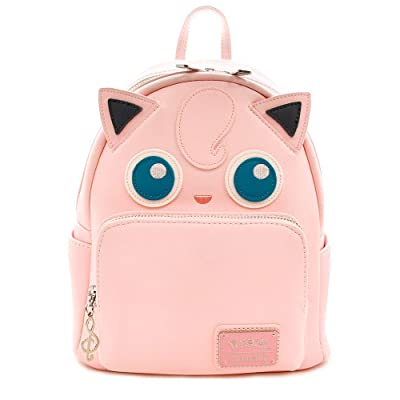 Loungefly Pokemon Jigglypuff Faux Leather Mini Backpack Standard | Casual Daypacks