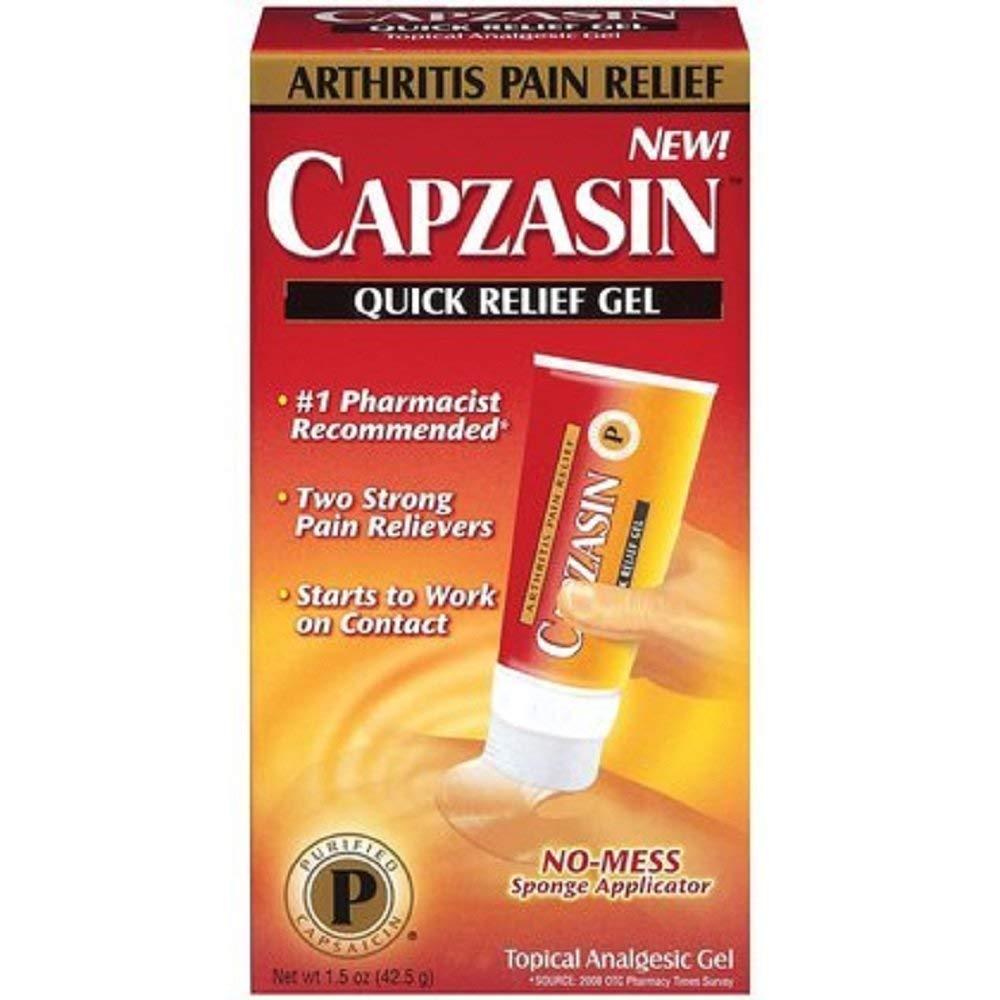 Capzasin Quick Relief Gel 1.50 oz (Pack of 2)
