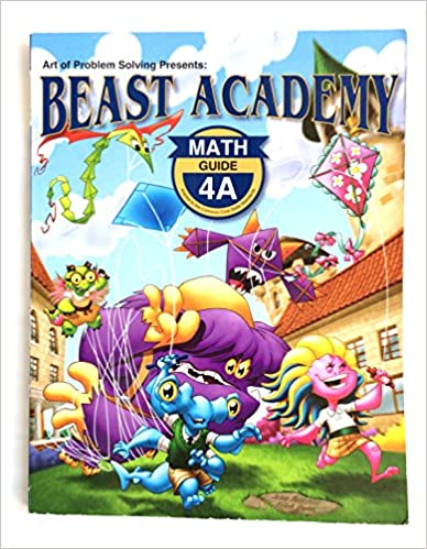 Book Beast Academy Guide 4A