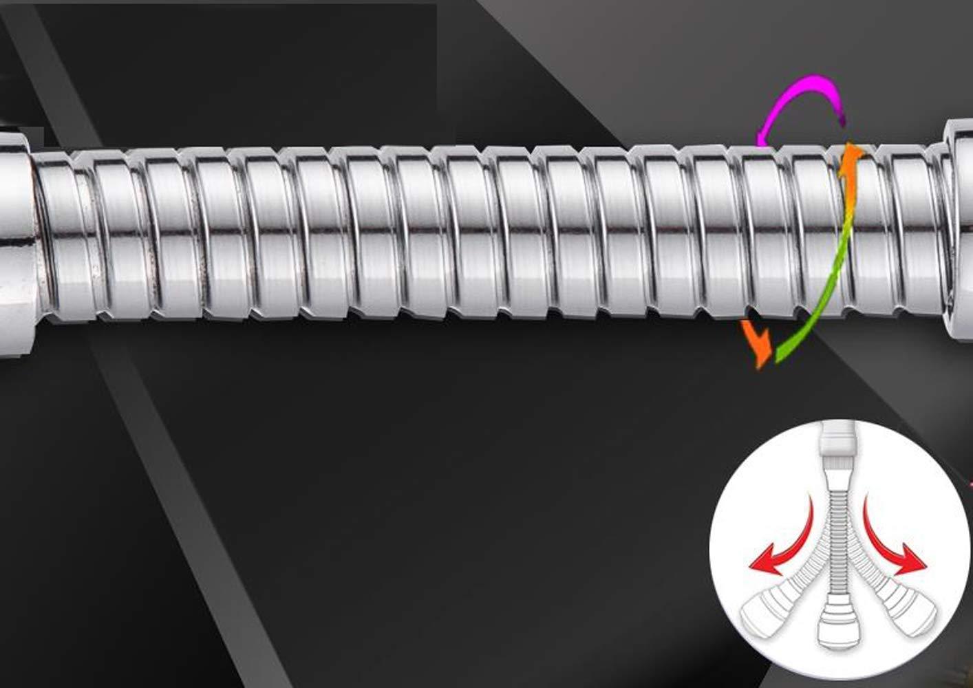 rallonge de robinet de cuisine pour /économie deau en acier inoxydable Pulv/érisateur de robinet pivotant /à 360 /°
