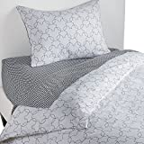 Ethan Allen Disney Mickey Mouse Dash Duvet Cover, Mickey's Ears, Twin