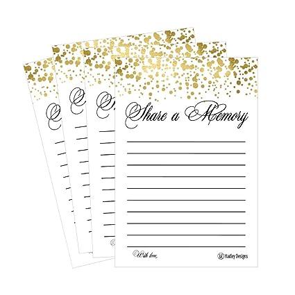 25 Funeral o cumpleaños compartir un recuerdo de tarjetas de ...