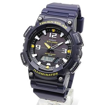 Estándar de Casio reloj analógico Digital caballeros estándar Aq-S810W-2A resistente uretano Solar deportes: Amazon.es: Relojes