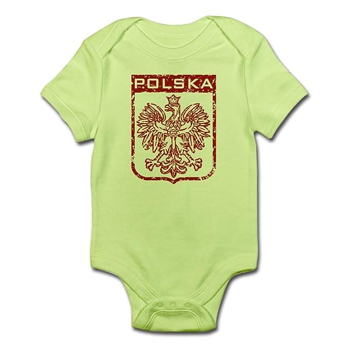6af77e537d89 Amazon.com  CafePress-Polska-Cute Infant Bodysuit Baby Romper  Clothing