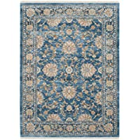 Safavieh Vintage Persian Collection VTP469K Traditional Oriental Turquoise and Multi Area Rug (4 x 6)