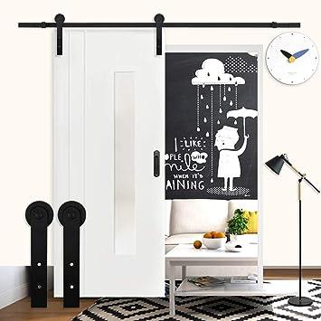 K-Home - Rodillo para puerta corredera con sistema para colgar de 4 m: Amazon.es: Bricolaje y herramientas