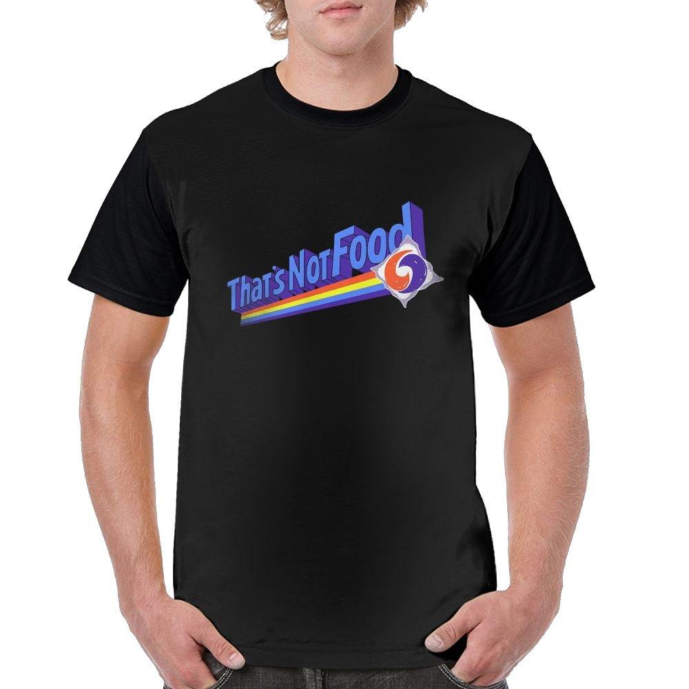 That's Not Food Short Sleeve Black Shirts