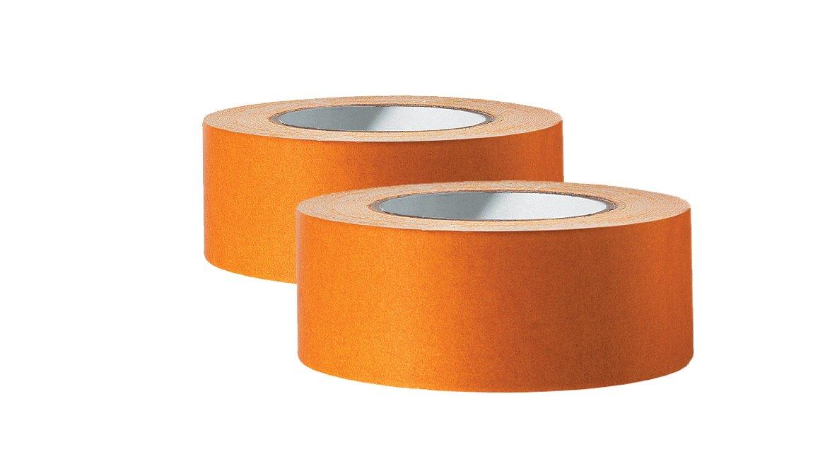 Nastro biadesivo professionale su entrambi i lati, 50 mm x 25 m, per posa di tappeti, nastro biadesivo, elevata forza adesiva, forte adesivo, per superfici lisce. Colorus