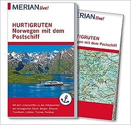 Karte Norwegen Hurtigruten.Merian Live Reiseführer Hurtigruten Norwegen Mit Dem Postschiff