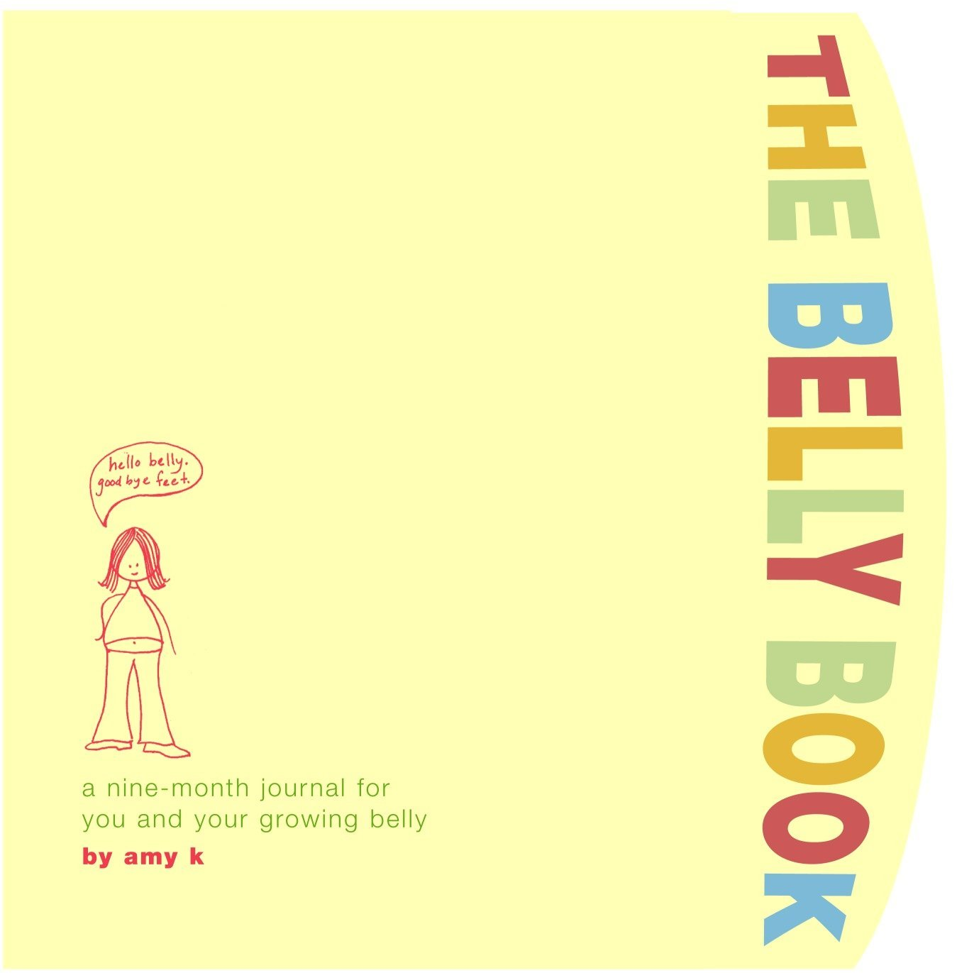 Belly Book Nine Month Journal Growing product image