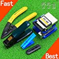 5 In 1 FTTH Fiber Optic Tool set with FC-6S Fiber Cleaver and Fiber Stripping + pliers Wire stripper Use Ftth Fttx