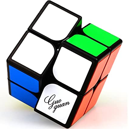 Black Silver Steady Mirror 2x2x2 Speed Cube Magic Cube