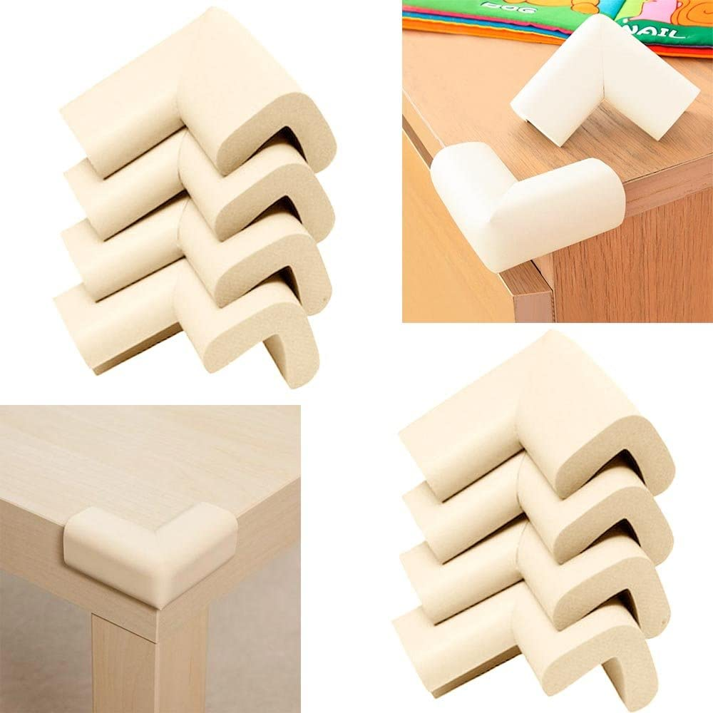 8 Baby Safety Table Desk Edge Corner Cushion Guard Softener Bumper Protector Kid