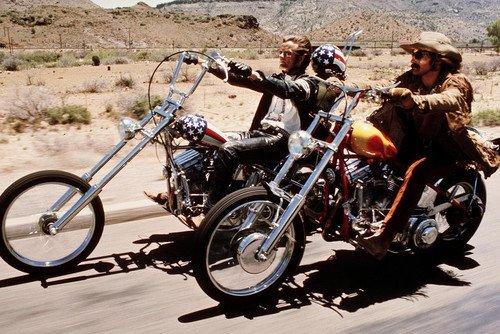 Dennis Hopper, Peter Fonda Easy Rider 24X36 Poster Motorbike