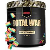 Total War by Redcon1 | Pre-Workout Strong Pumps Focus Energy (30 Serves, Rainbow Candy)