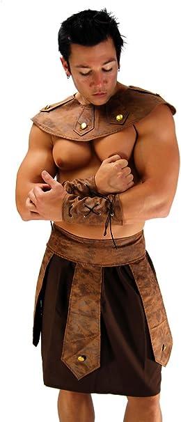 Disfraz de dios romano sexy para hombre, disfraz de gladiador ...