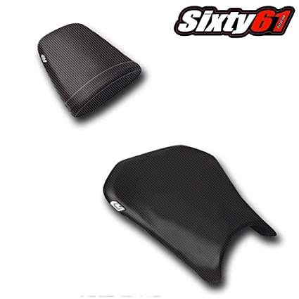Amazon Com Luimoto Seat Cover For Honda Cbr600rr 2005 2006 Black