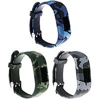 Large Replacement Bands and Straps for Garmin vivofit JR & vivofit JR.2 & vivofit 3, [fits 6~8.5 inch Wrists] Small/Large
