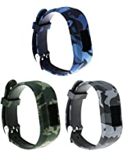 ECSEM Large Bands and Straps Compatible with Garmin vivofit JR & vivofit JR.2 & vivofit 3, [fits 6~8.5 inch Wrists] Small/Large