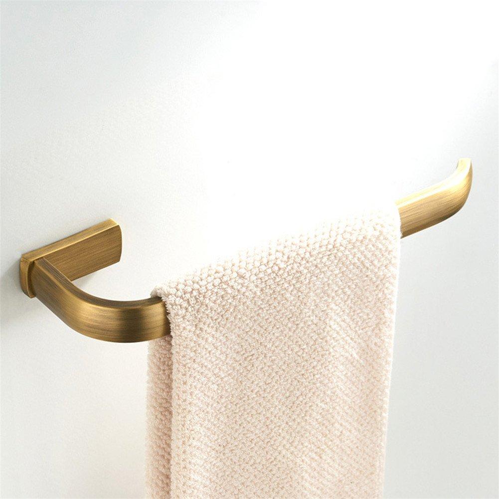 porta carta igienica barra portasciugamani antico stile retr/ò fissato al muro anello porta asciugamani WOMAO Set accessori bagno in ottone 4 pezzi: porta accappatoio