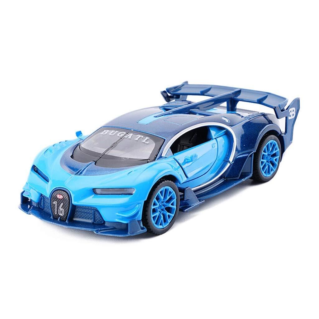 KaKaDz Wei Modello Blu Car Bugatti VisionGT 1 32 Modello in Lega Modello di Auto Giocattolo Modello statico Collezione Ornamenti Decorazione Domestica