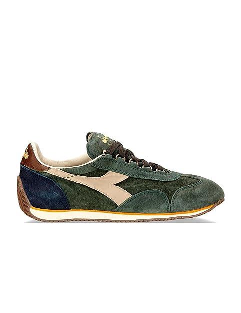 DIADORA - DIADORA HERITAGE SNEAKERS UOMO EQUIPE S SW - 632000 - 8, C7154 VRD EDERA/BLU: Amazon.es: Zapatos y complementos