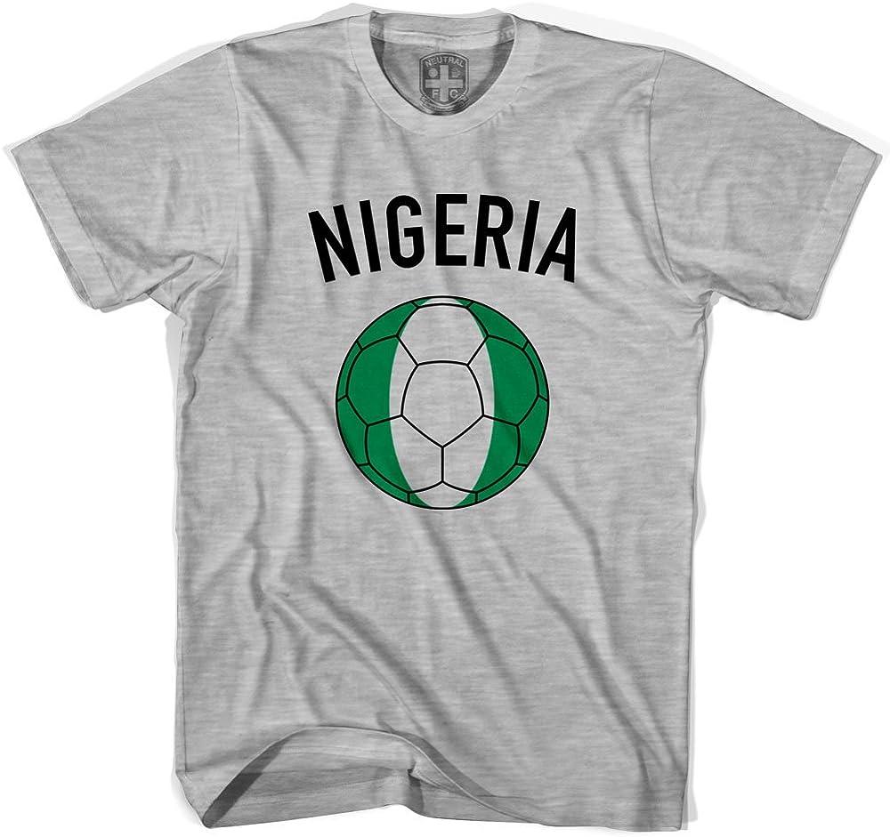 Nigeria camiseta de balón de fútbol: Amazon.es: Ropa y accesorios