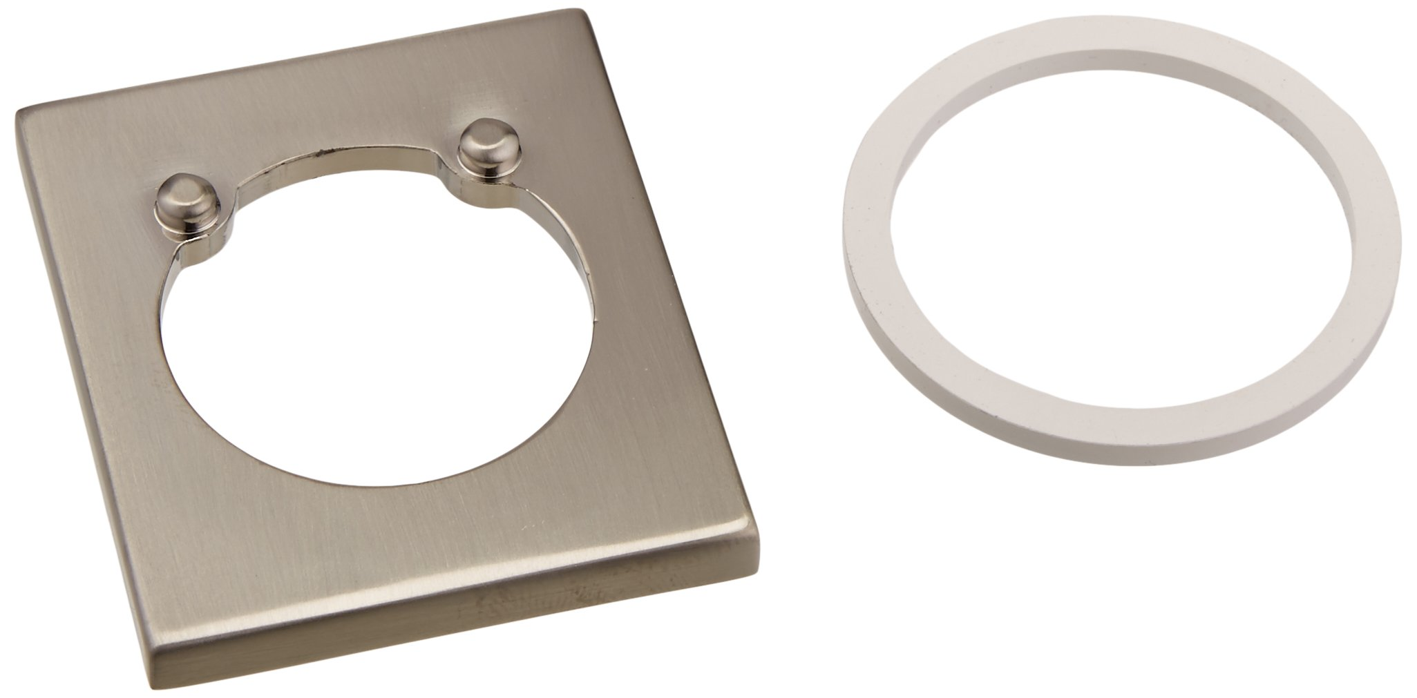 Delta RP63347SS Vero Flange and Gasket, Stainless