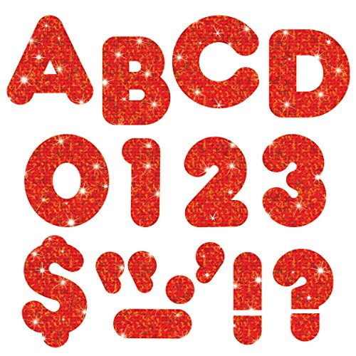 "TREND enterprises, Inc. Red Sparkle 2"" Casual UC Ready Letters -  T-507"