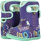 rain and snow boots - Bogs Baby Snow Boot, New Flower Dot/Violet/Multi, 7 M US Toddler