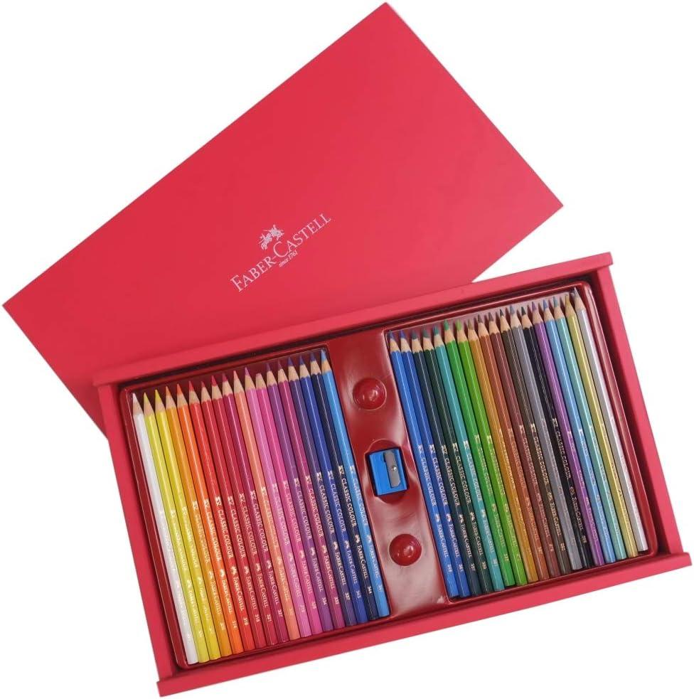 Faber-Castell 155601 - Lápices de colores para dibujo: Amazon.es: Electrónica