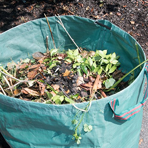 Mixitude Garden Hand Leaf Claw Scoops complete with Protective Wrist Pad and 72 Gallon Leaf Waste Bag by Mixtitude (Image #8)