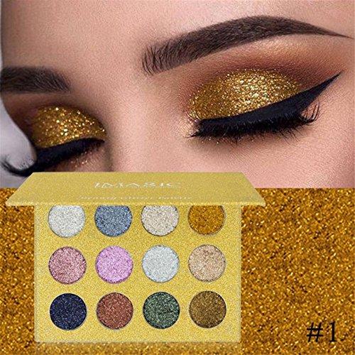 Shimmer Glitter Eye Shadow Powder Palette Matte Eyeshadow Co