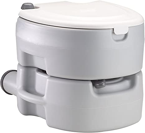 CAMPINGAZ Portable Flush Baño portátil, Unisex, Blanco, Large