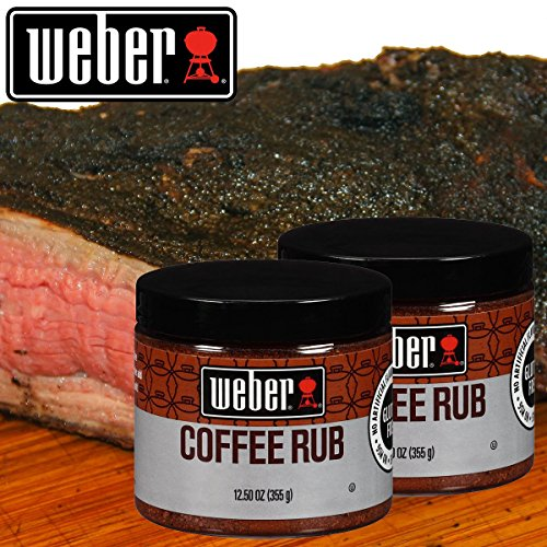 12 5 Weber Gourmet Coffee Rub