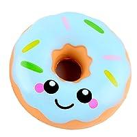Isuper Doux Jouet Squishy Jumbo Donut Crème Stress Reliever Jouet 11 cm